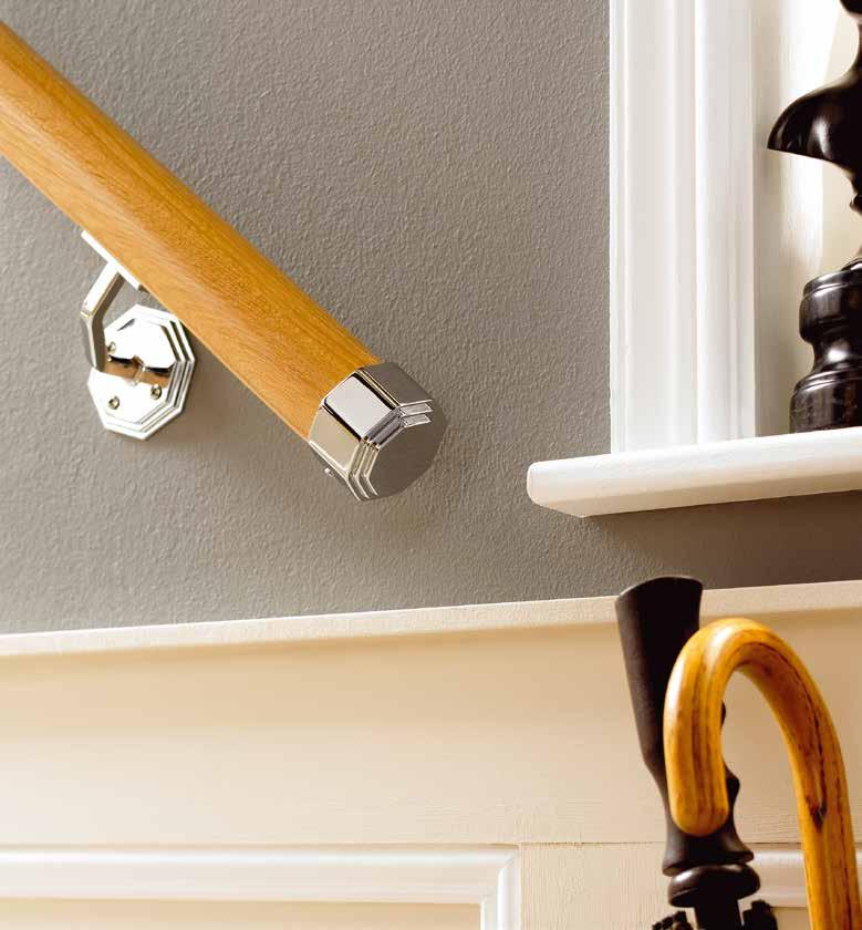 staircase or add extra safety to your stairway with our Wall Mounted Handrails.