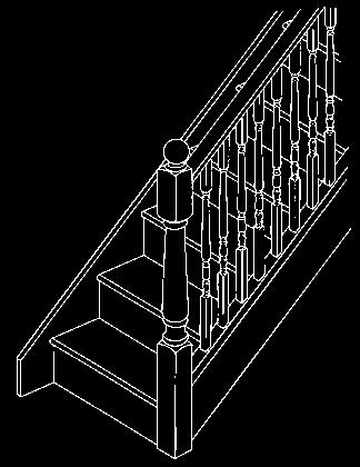 It may seem an odd way to look at a staircase, but when you think about the