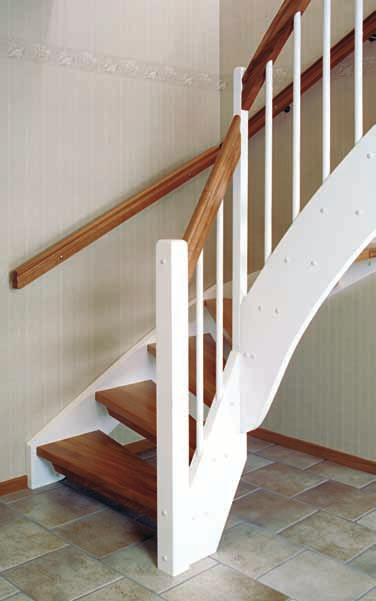 26 Quarter turned open Staircase Tradition Design