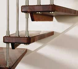 WF Design with its free-hanging steps radiates a light elegance in beautiful harmony with its