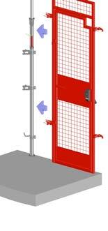 STEP 4: PLACE AND INSTALL ANOTHER RAPID POST OR RAPID POST EXTRA INTO OPEN SCAFFOLD CLAMPS AT