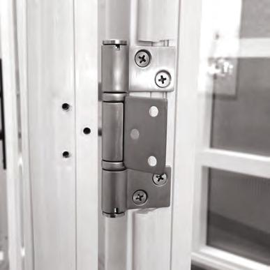 Bi-Fold Hinge Shim Installation To make your bi-fold door installation
