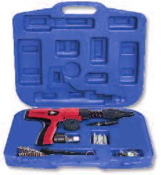 PA35 PROUCT INFORMATION PA35 Fully Aumatic Powder-actuated Tool TOOL ESCRIPTION The PA35 is a lightweight, fully aumatic, powder-actuated ol This ol can fasten several hundred nails per hour for