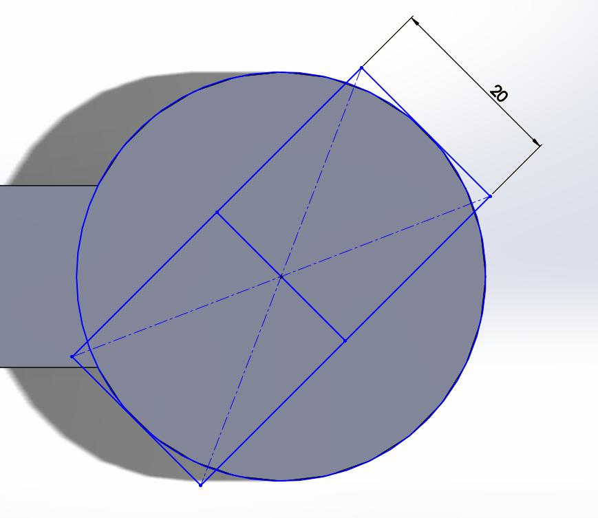 At this point the center of the rectangle may have shifted.