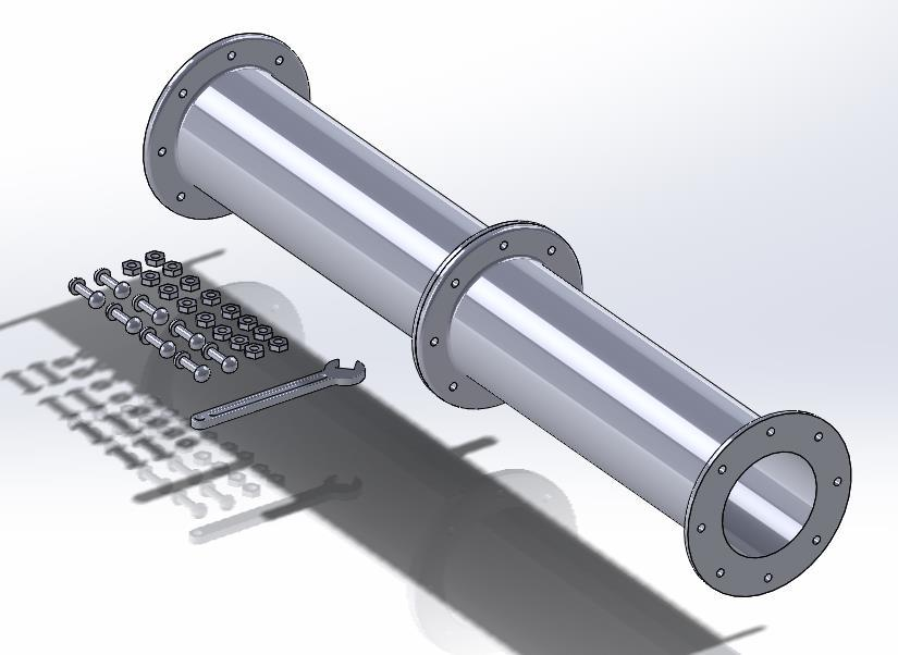 Note how SolidWorks recognizes the surfaces to be mated and automatically selects the Concentric Mate. There are many different mates as seen in the Standard Mates panel.