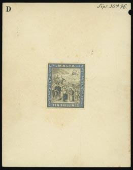 1899 1901 Issue: Essays, Proofs and Colour Trials continued 3288 E 10s.