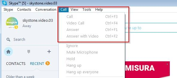 SkypeOut calls (i.e. calls to PSTN numbers) fail Applies to SkyStone SkyStone Video Description The called number appears in the Skype client but the SkypeOut call never begins.