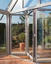 Where many other bifold door systems can be restricted in how they can be incorporated into the overall building design, Schüco doors offer a diverse range of design options enabling