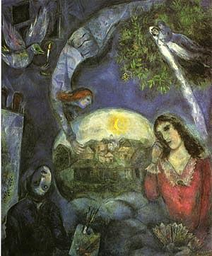 Marc Chagall Chagall and his family moved to Paris.