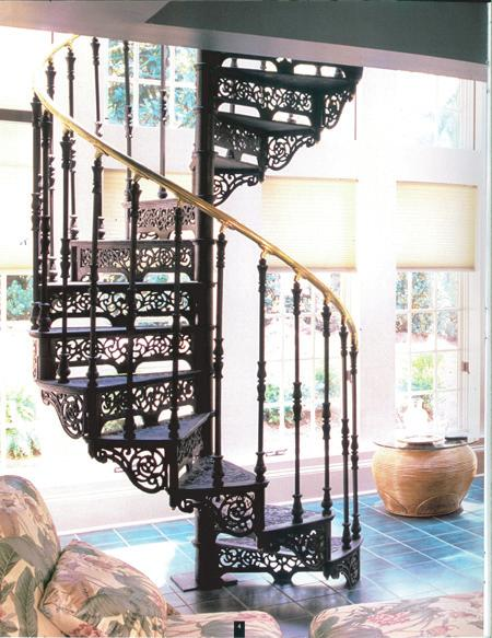 BARCLAY SPIRAL STAIRCASE Congratulations on your purchase of our Barclay 5' Spiral Staircase!