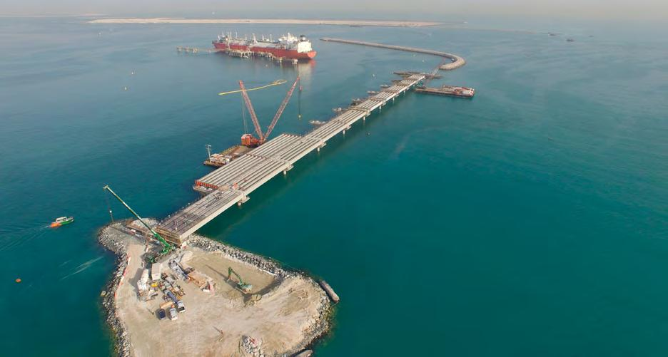 Mariyah Island Bridges and Elevated Roads Mubadala Abu
