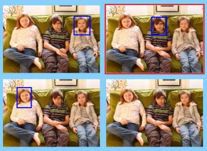 Smarter cameras Future behaviors - Automatic photo framing/cropping?