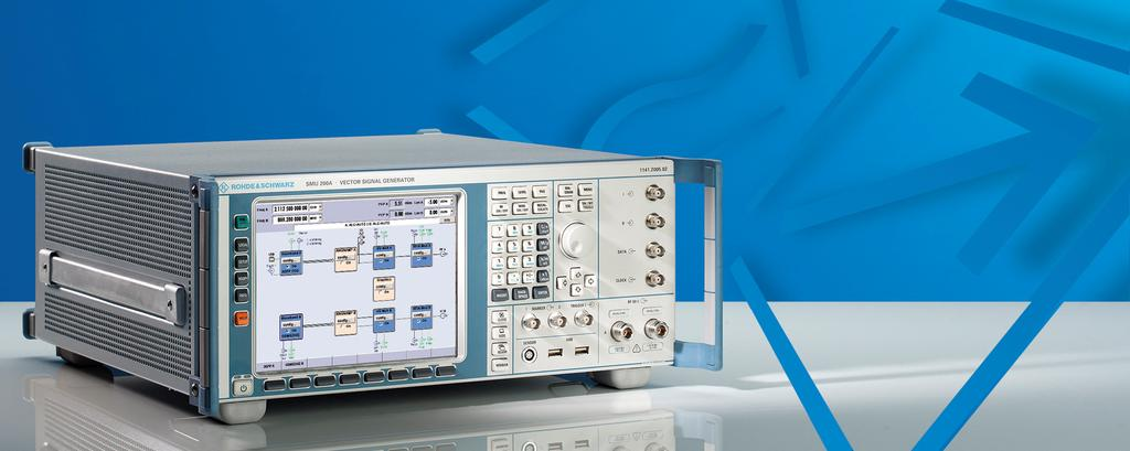 Rohde & Schwarz producs: SMU00 Generaing Polar Modulaion wih R&S SMU00 Polar modulaion is a mehod where digial modulaion is realized as a combinaion of phase and ampliude modulaion, raher han using