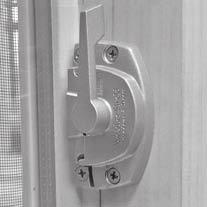 Rotate lock handle as in (FIGURES 1 or 2) toward the locked position. Move handle as far as it will go. The lock cams must engage the lock keeper.