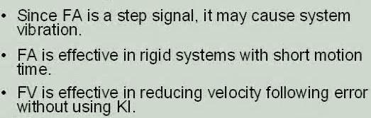 Design FF signals are