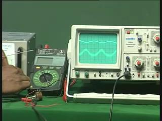 How do I know there is amplification? For that there are amplifiers here in the oscilloscope which is maintained at different points.
