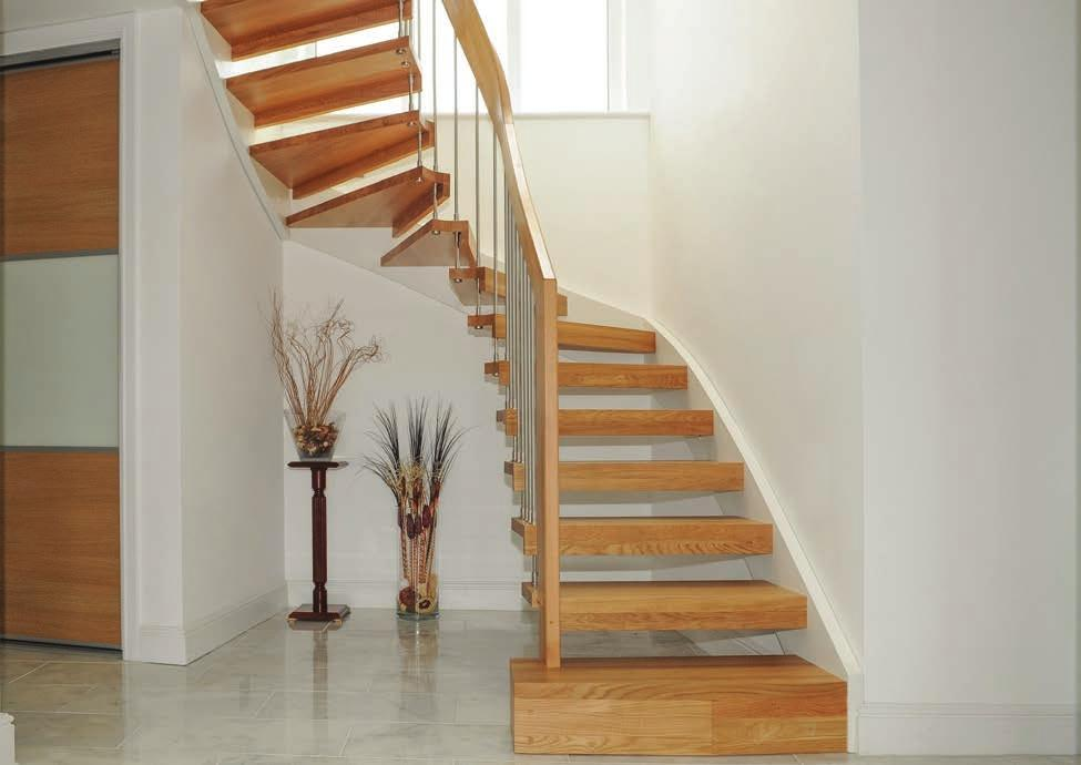 1 2 3 Given this is a bespoke product and each staircase supplied is unique, there are a