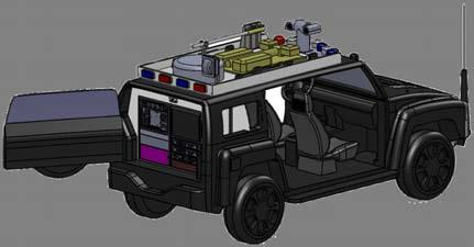 Vehicle-mounted Deployment As small size and light
