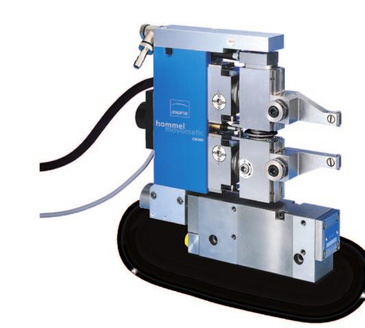 plain or interrupted surface parts - Vibration absorption : hydraulic - Easy size adjustment via dovetail - Standard adjustment range : Ø 6 to Ø 96 mm, extensible by accessories -