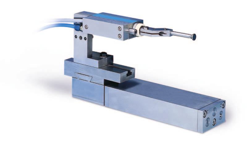 Gauge head for locating axial position Digital gauge head for locating axial position DP200 Bus - Digital gauge head for locating axial position - For plain or interrupted surface parts - Break away