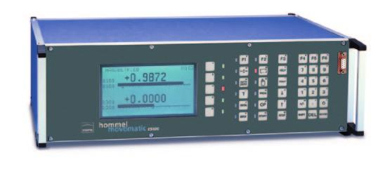 Measurement and control systems ESZ400 - Multifunctional electronic display and control unit - Powerful measurement, processing and display functions in one instrument - Maximum flexibility for