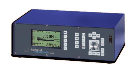 for one or two measuring and control functions - Has two inputs for capacitive, inductive sensors or digital gauge heads - For in-process, post-process measurements or checking - For plain or