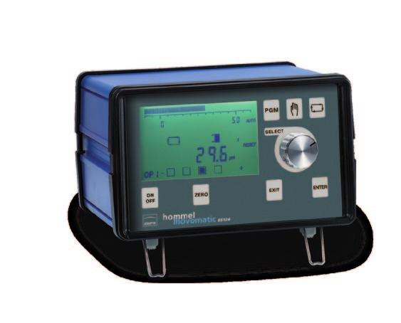 BCD-output - User-friendly, results can be displayed in metrics or imperial - Backlight graphical LCD display - Power supply range : 85 VAC to 255 VAC (50 Hz to 60 Hz) or 24 VDC ES400 -