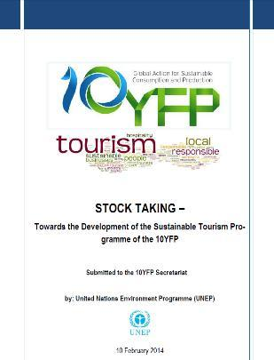 Sustainable Tourism Programme of 10 YFP Development Approach Stock Taking Research Global