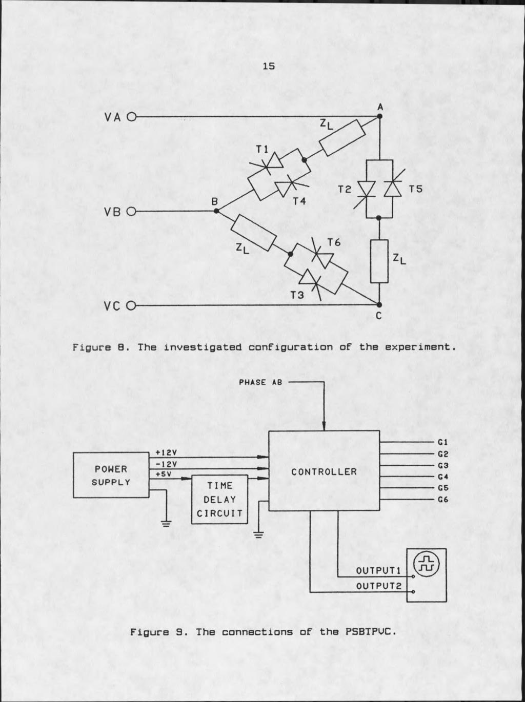 Firing Circuits For Three Phase Power Electronic Pdf Circuitlab Test Lm 317 Voltage Regulator The Investigated Configuration Of Experiment