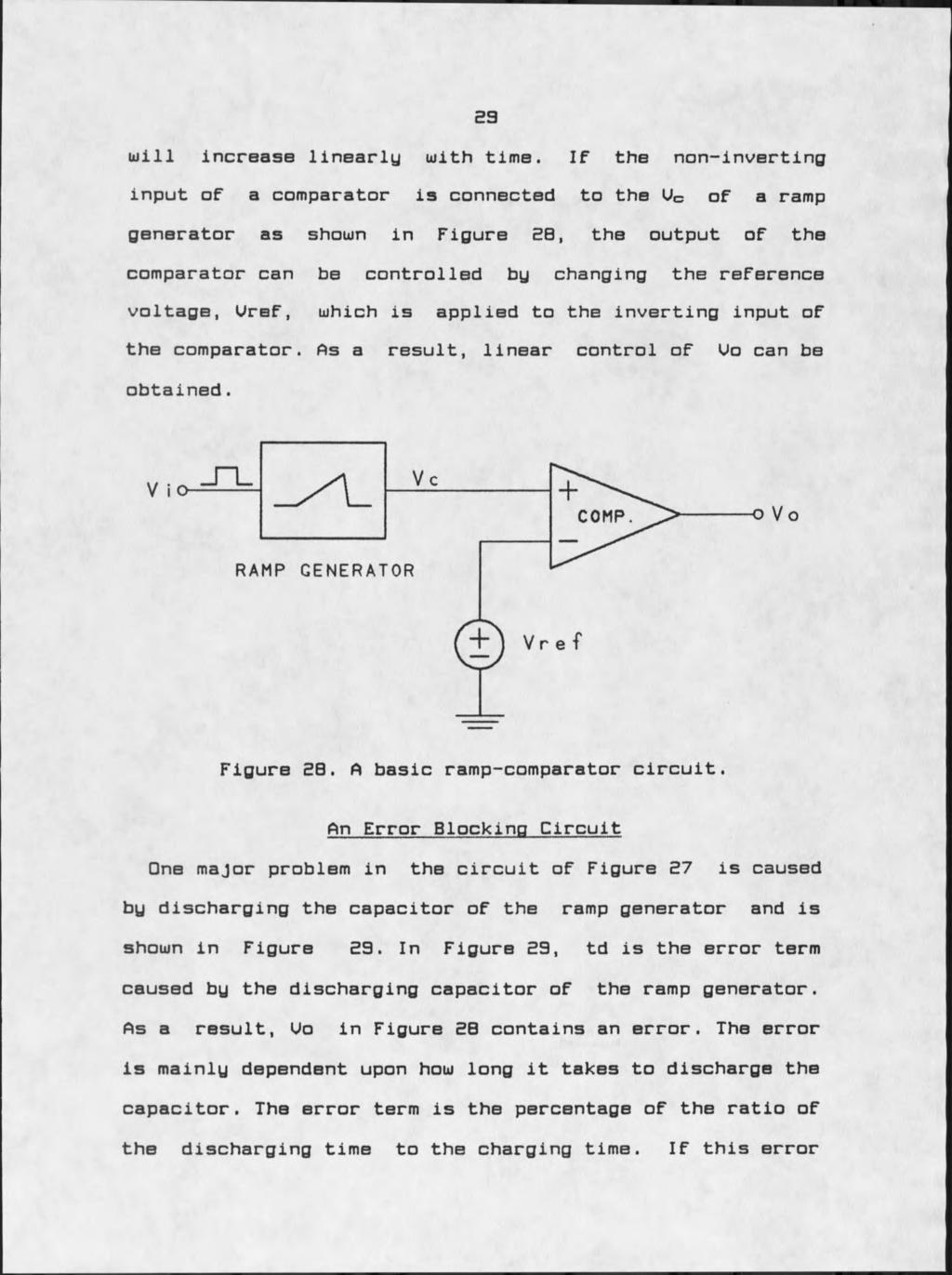 Firing Circuits For Three Phase Power Electronic Pdf This Is Your Basic Comparator Circuit Using The 741 Op Amp Nothing 23 Will Increase Linearly With Time