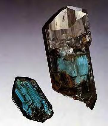 Old topaz workings at Saramenha, ca. 1976.
