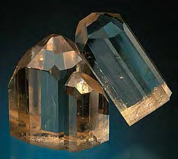 The name imperial topaz is said to have originated in the 19th century in Russia, where the Ural Mountain mines were an important source.
