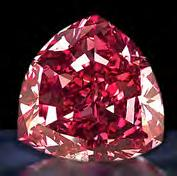 4. RED DIAMONDS Alright, so technically speaking red diamonds are diamonds, but they highlight an important point about the mineral that s really worth pointing out, namely that diamonds come in a
