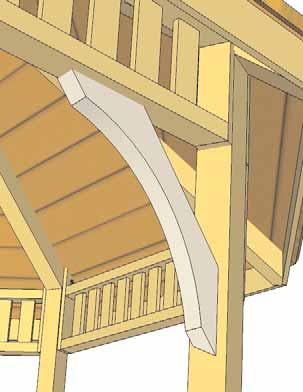 Place into position on Post and on the Upper Baluster Section bottom rail.
