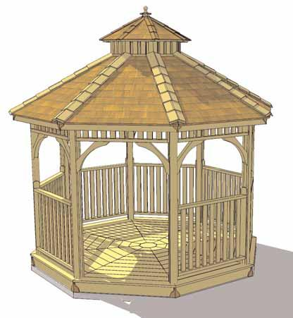 Congratulations on assembling your 10ft Bayside Gazebo! Note; Our Gazebos are shipped as an unfinished product.