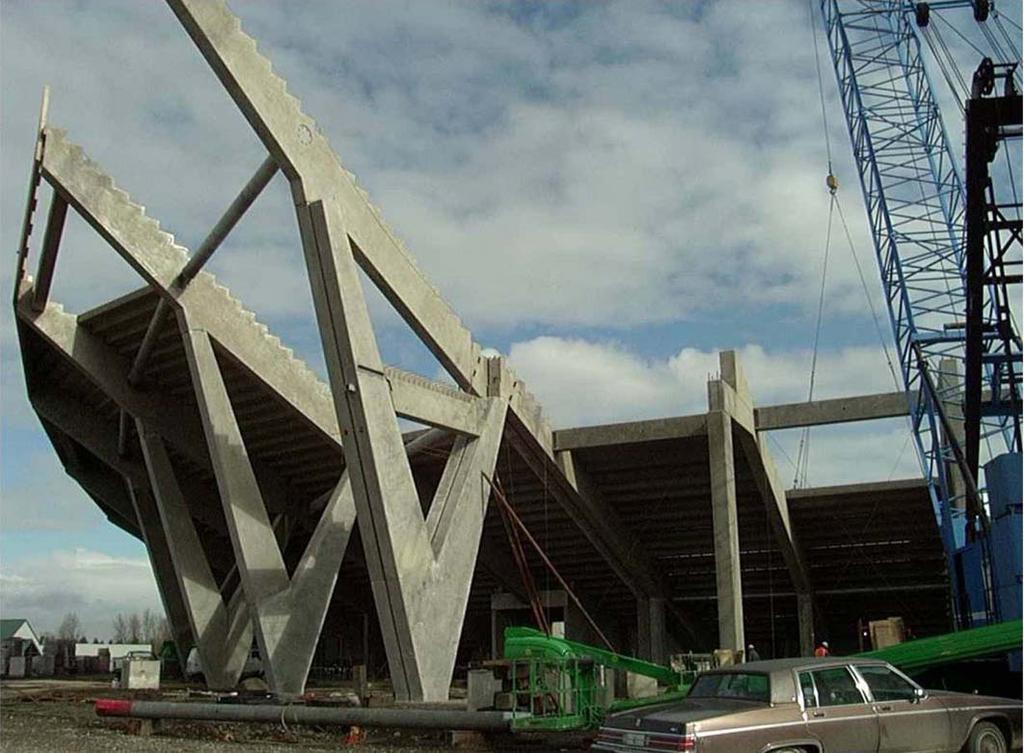 2 CITRUS BOWL STADIUM, ORLANDO, FL This is another all precast structure system which was bid as a design build project.