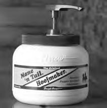 HOOF MOISTURIZERS, SEALERS Hoof Moisturizers 960050 Mane n Tail Hoofmaker (Straight Arrow), 32 oz Topical equine salve repairs and strengthens horse hooves Non-greasy formula contains no pine tar,