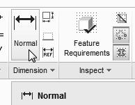 1-40 Parametric Modeling with Creo Parametric Create the 2D Section 1. In the Sketching toolbar, select Line as shown.
