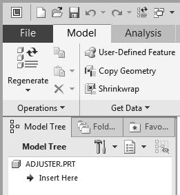 In the New File Options dialog box, select EMPTY in the option list to not use any template file. 8.