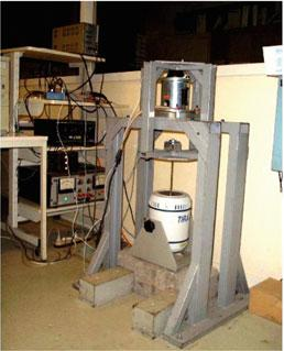 20 2 The Test Benches machine primary force (disturbance) main chamber 1 elastomere cone piston