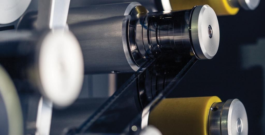in Figure 6. Most important is the precision roller-gate that offers unparalleled smooth and safe film handling across differing film formats, ranging from 35mm, 16mm and 8mm.