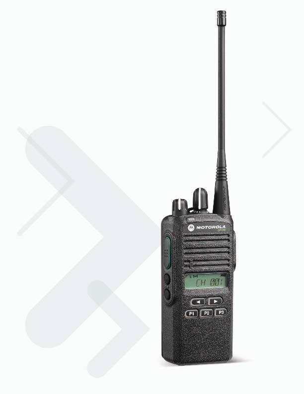 Commercial Portable Two-Way Radio Motorola CP185 Enhanced