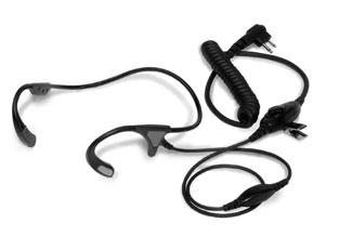 Earpiece with In-Line PTT