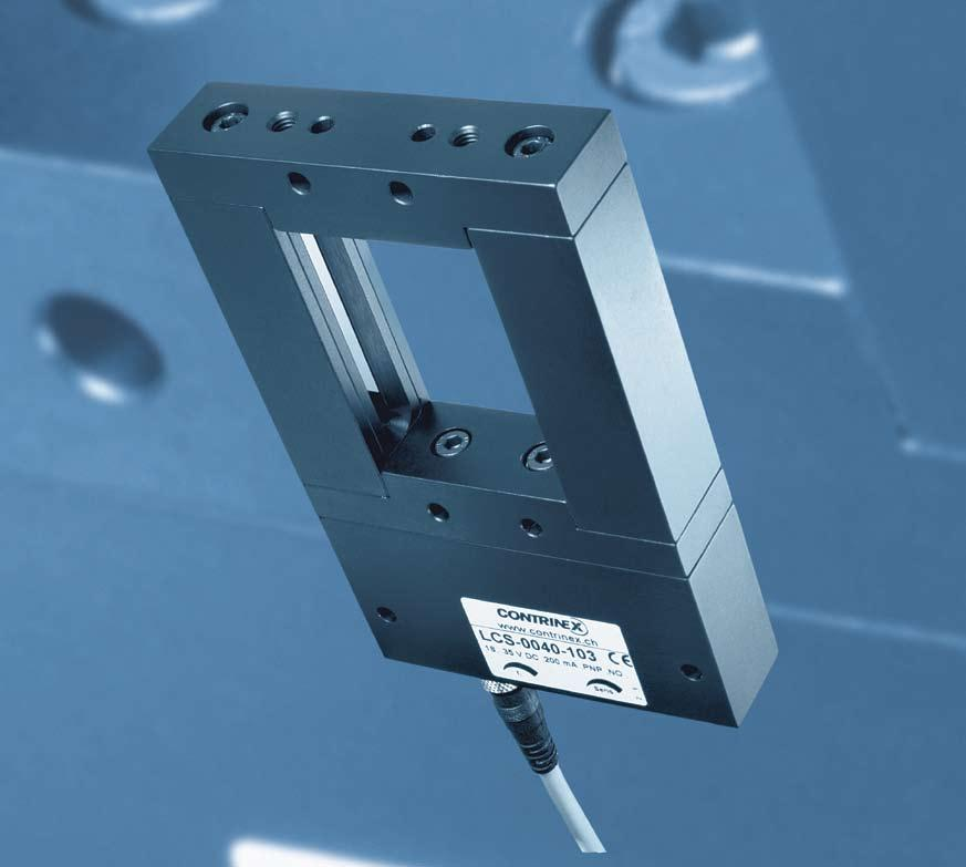Frame through-beam sensors Features Wide range of sizes: passage