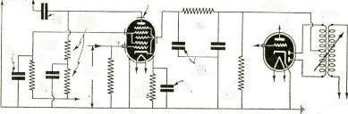 SSO RADIO -CRAFT for MARCH, 940 BEST BUY in Wite! ss INTERCOMMUNICATING Systems Fig. 4. Schematic circuit of swell pedal as employed by W. S. Pollock in the Robb Wave Organ. CROSLEY CHATTABOX $2450 f.