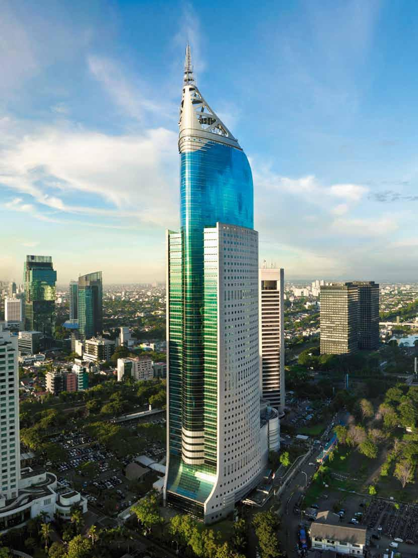Markets Indonesia Indonesia: an economic giant in the making The Indonesian capital, Jakarta, with a population of more than nine