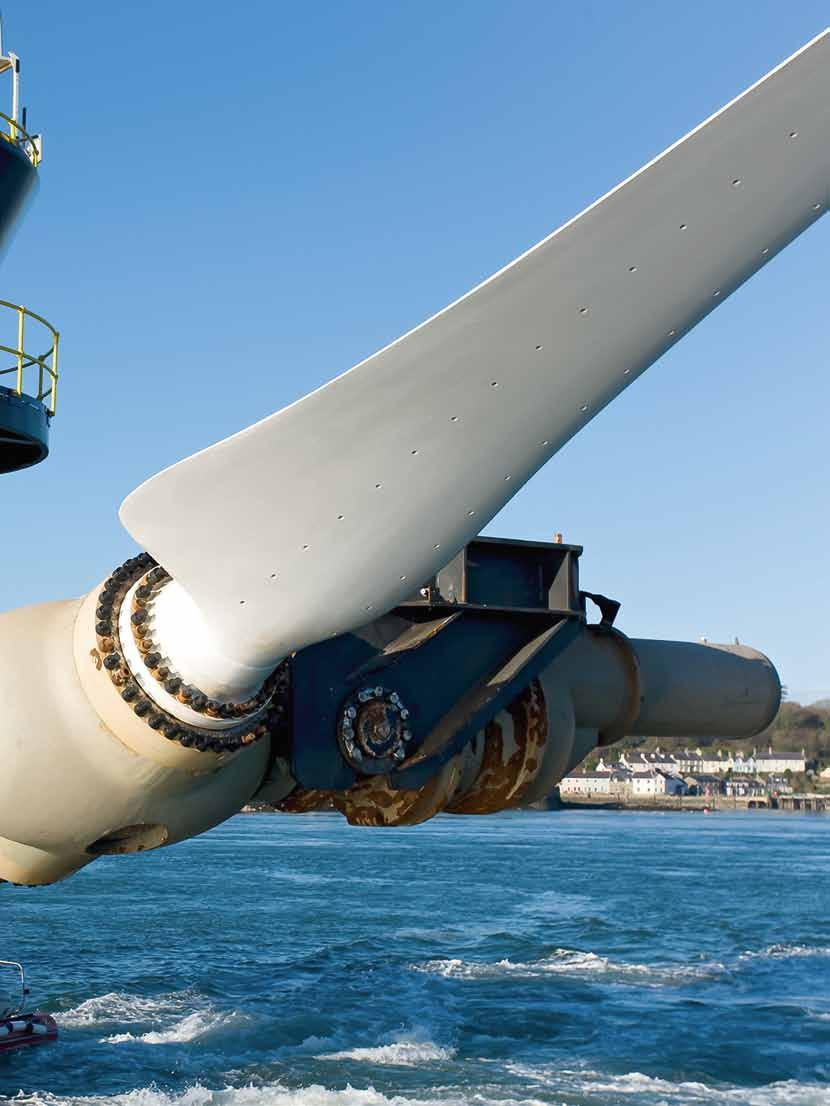 Big Picture Energy from the sea The SeaGen tidal current turbine operated by Siemens subsidiary Marine Current Turbines (MCT) off the coast of Northern Ireland functions like a wind turbine that has