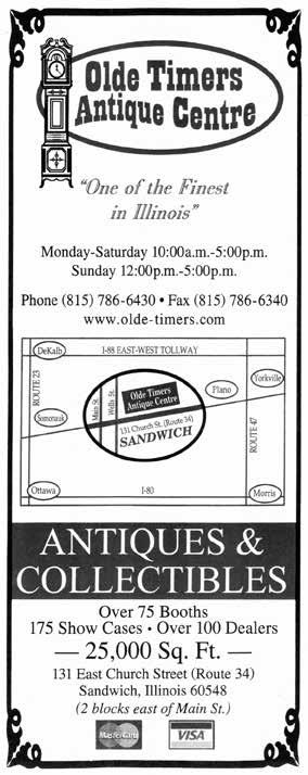 OLDE TIMERS ANTIQUE CENTRE Sandwich Time will get away from you when you choose this fabulous mall as your destination!