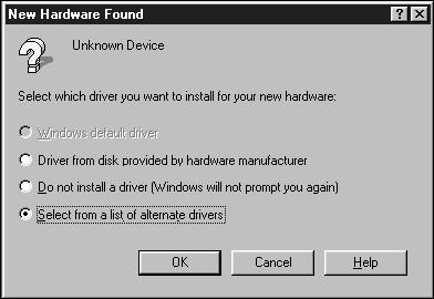 INSTALLING THE SOFTWARE PC/AT WINDOWS 95/ WINDOWS 98 WINDOWS NT Dimâge Scan Elite for Windows Setup installs the Twain and Twain_32 driver software into the drive and folder you select.