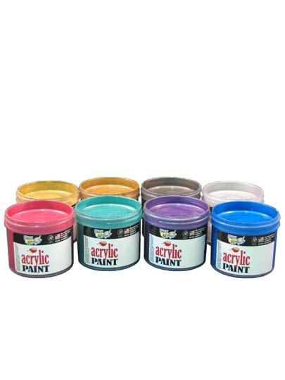 10 Acrylics mmm-mm! olly s agnificent olten etal Acrylics These dry to a beaten metal look with a mirror-like reflective finish! Eight Great Colors! Set of 8 colors, 4 oz jars 4228 22.99 RIGHT ON!